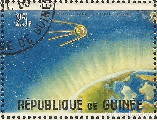 Sellos: REPÚBLICA DE GUINEA - 1965 - BLOQUE / HOJA - VIAJE ESPACIAL CON BELYAYEV Y LEONOV - Foto 8 - 243687945