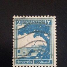 Sellos: PALESTINA 2, AÑO 1927. USADO.. Lote 245103850