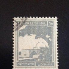 Sellos: PALESTINA 10 AÑO 1927. USADO.. Lote 245103995