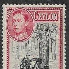Sellos: CEYLAN, YVERT 252, NUEVO CON GOMA. Lote 254417225