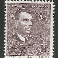 Sellos: ASIA - EL PAÍS NO CONOZCO - SELLO DE 1959 - 10 AÑOS ENERGÍA ATÓMICA - MUY BUENO PERO USADO. Lote 261866765