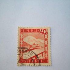 Sellos: SELLO REPUBLIC OF OSTERREICH 40 AUSTRIA. Lote 262651075