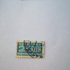 Sellos: SELLO ALEMANIA; NOTOPFER 2 BERLIN STEUERMARKE - SELLO DE IMPUESTOS - 1949. Lote 262651105