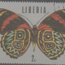 Francobolli: LOTE(19) SELLOS LIBERIA MARIPOSAS FAUNA TAMAÑO GRANDE. Lote 266148273