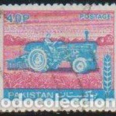 Sellos: PAKISTAN 1978-9 SCOTT 465 SELLO º AGRICULTURA MAQUINARIA TRACTOR MICHEL 469 YVERT 467 STAMPS TIMBRE. Lote 269058573