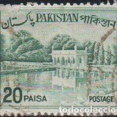 Sellos: PAKISTAN 1970 SCOTT 135C SELLO º UNESCO JARDINES SHALIMAR MICHEL A183 YVERT 184A STAMPS TIMBRE. Lote 269058713