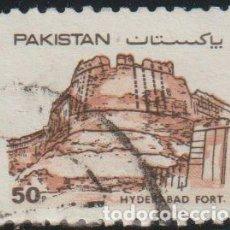 Sellos: PAKISTAN 1986 SCOTT 617 SELLO º UNESCO FORTALEZAS FUERTE HYDERABAD MICHEL 622 YVERT 661 STAMP TIMBRE. Lote 269059218