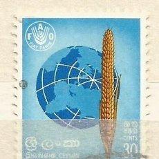 Sellos: CEYLAN - 1960 - USADO. Lote 269285443
