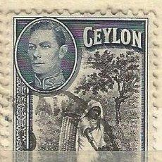 Sellos: CEYLAN - 1938 - JORGE VI - USADO. Lote 269501848