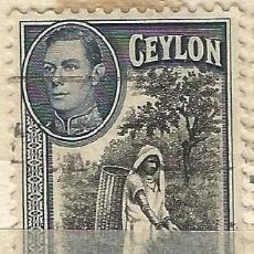 Sellos: CEYLAN - 1938 - JORGE VI - USADO. Lote 269501858