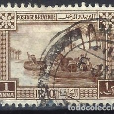 Sellos: IRAQ 1923-25 - MOTIVOS LOCALES, GUFFAS SOBRE EL TIGRIS - USADO. Lote 270243668