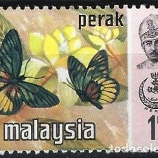 Sellos: MALASIA / PERAK 1935-37 - MARIPOSAS - MNH**. Lote 270357223