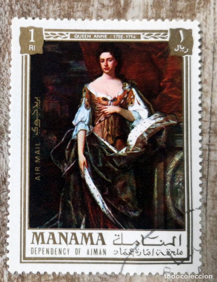 MANAMA 1972 - REYES Y REINAS DE INGLATERRA (Sellos - Extranjero - Asia - Otros paises)