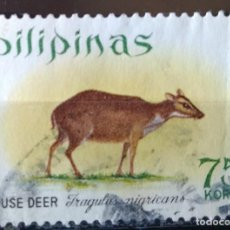Sellos: SELLO DE FILIPINAS ANIMAL (MATASELLADO). Lote 278416038