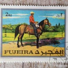 Sellos: 1970 - FUJEIRA - COWBOY A CABALLO. Lote 278532628