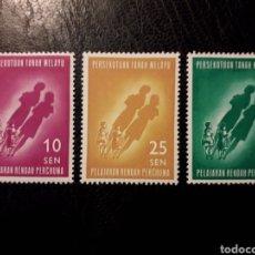 Sellos: MALASIA, FEDERACIÓN. YVERT 108/10 SERIE CTA NUEVA CON CHARNELA 1962 EDUCACIÓN PEDIDO MÍNIMO 3€. Lote 279495163