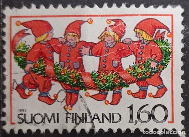 SELLOS FINLANDIA (Sellos - Extranjero - Asia - Otros paises)