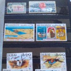 Sellos: LOTE 9 SELLOS DUBAI. Lote 288440743