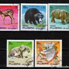Sellos: FUJEIRA 1971 SERIE: FAUNA SALVAJE *.MH (30-02). Lote 288512973