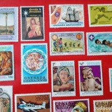Sellos: SELLOS DE GRENADA GRENADINES ,AÑOS 1970+, NUEVOS ** 38 UNIDADES (VER FOTOS). Lote 293476338
