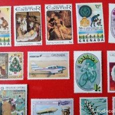 Sellos: SELLOS DE GRENADA ,AÑOS 1970+, NUEVOS ** 34 UNIDADES (VER FOTOS). Lote 293477308