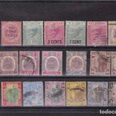 Sellos: FC3-112- MALAYA /PERAK /SELANCOR / UJONG / Y OTROS ,LOTE SELLOS ANTIGUOS. Lote 293982798
