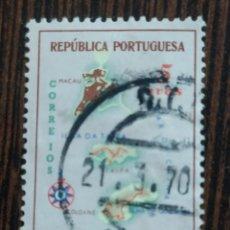 Sellos: SELLO MACAO, COLONIA PORTUGUESA , MICHEL N 408. Lote 294092583