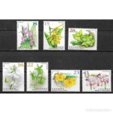 Sellos: ⚡ DISCOUNT TAIWAN 2018 GREETINGS STAMPS - EVERLASTING WEALTH MNH - FLOWERS. Lote 295950028