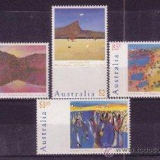 Sellos: AUSTRALIA 1339/42** - AÑO 1991 - DÍA NACIONAL - PAISAJES. Lote 25421999