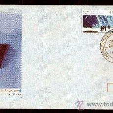 Sellos: AUSTRALIA AÑO 1990 SPD COOP CIENTÍFICA EN LA ANTÁRTIDA CON URSS-RUSIA MATASELLOS BASE DAVIS POLAR. Lote 26454598