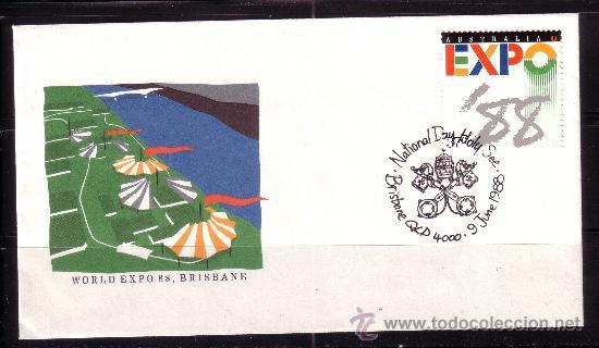 AUSTRALIA SPD 1083 - AÑO 1988 - EXPO 88 - EXPOSICIÓN MUNDIAL EN BRISBANE (Sellos - Extranjero - Oceanía - Australia)