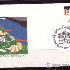Sellos: AUSTRALIA SPD 1083 - AÑO 1988 - EXPO 88 - EXPOSICIÓN MUNDIAL EN BRISBANE. Lote 20003938