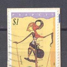 Sellos: COCOS (KEELIN) ISLANDS- AUSTRALIA, AÑO 1964- USADO-MARIONETA. Lote 21896555