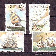 Sellos: AUSTRALIA***.BARCOS.SHIPS.NAVAL.SERIE COMPLETA.. Lote 25796044