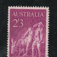 Sellos: AUSTRALIA 310 USADA, 50 ANIVº LLEGADA DE LOS ANZAC EN EUROPA Y DE LA BATALLA DE LOS DARDANELOS . Lote 26667329