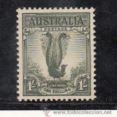 Sellos: AUSTRALIA 228B SIN CHARNELA, FAUNA, AVES, . Lote 26670089