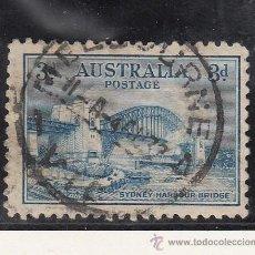 Sellos: AUSTRALIA 90 USADA, INAUGURACION DEL PUENTE DEL PUERTO DE SIDNEY . Lote 26670800