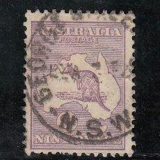 Sellos: AUSTRALIA 61 USADA, FAUNA, CANGURO . Lote 26670894