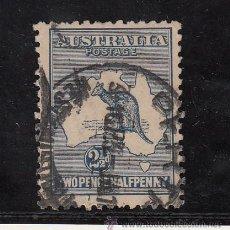 Sellos: AUSTRALIA 4AA USADA, FAUNA, CANGURO, . Lote 26671015