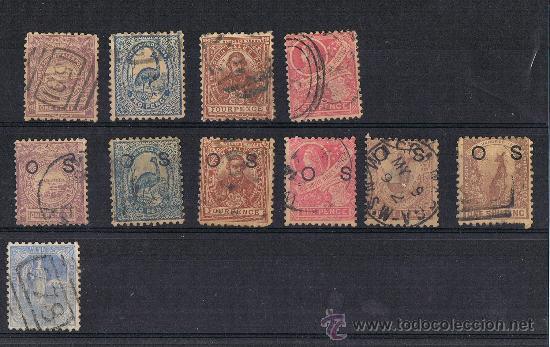 NUEVA GALES DEL SUR 1888 - NEW SOUTH WALES 1888 (PRIMEROS SELLOS CONMEMORATIVOS) (Sellos - Extranjero - Oceanía - Australia)
