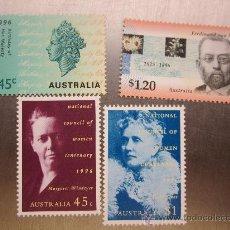Sellos: SERIE SELLOS AUSTRALIA PERSONAJES.NUEVOS. Lote 33507940