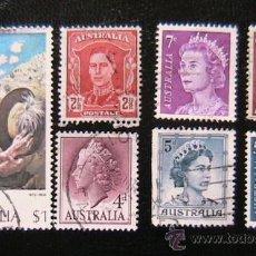 Sellos: AUSTRALIA- LOTE DE SELLOS. Lote 38048914