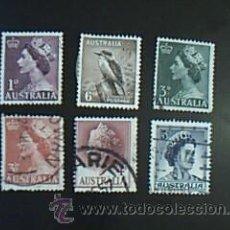 Sellos: LOTE 6 SELLOS AUSTRALIA. Lote 38051310