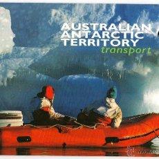 Australia - Folder carnet de sellos - Territorio Antártico 1998 - 4 valores.