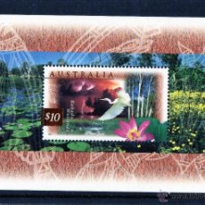 Sellos: AUSTRALIA 1997 HB-4 NATURALEZA FAUNA NUEVO LUJO PACIFIC 97 MNH ***. Lote 49584474