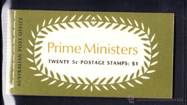 AUSTRALIA CARNET 397** - AÑO 1969 - PERSONAJES - PRIMEROS MINISTROS (Sellos - Extranjero - Oceanía - Australia)