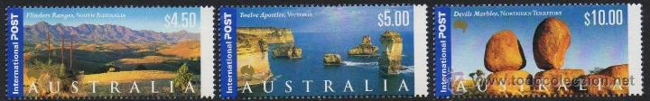 AUSTRALIA 2000 SERIE PANORAMAS NUEVO LUJO VER DETALLE OFERTA MNH *** (Sellos - Extranjero - Oceanía - Australia)