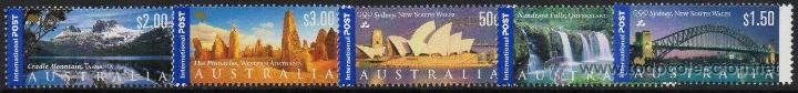 AUSTRALIA 2000 SERIE COMPLETA PAISAJES NUEVO LUJO VER DETALLE OFERTA MNH *** SC (Sellos - Extranjero - Oceanía - Australia)