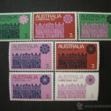 Sellos: AUSTRALIA 1971 IVERT 450/6 *** NAVIDAD - LOS REYES MAGOS. Lote 51065928