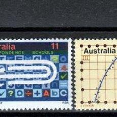 Sellos: AUSTRALIA.1974. SERIE. LA EDUCACION. **.MNH. Lote 51728183